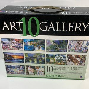Art Gallery 10 Deluxe Puzzles Box 5600